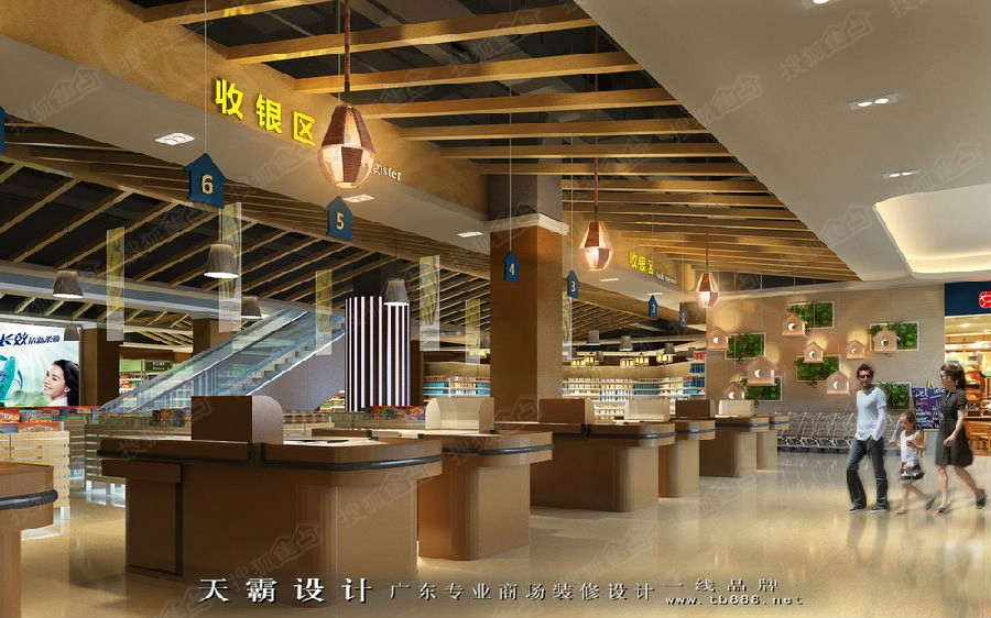 2017商业空间装修设计效果图好评作品