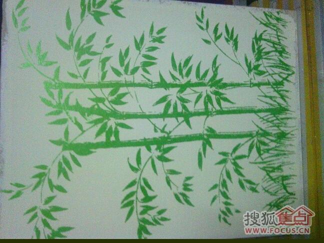 竹子简笔画儿童画