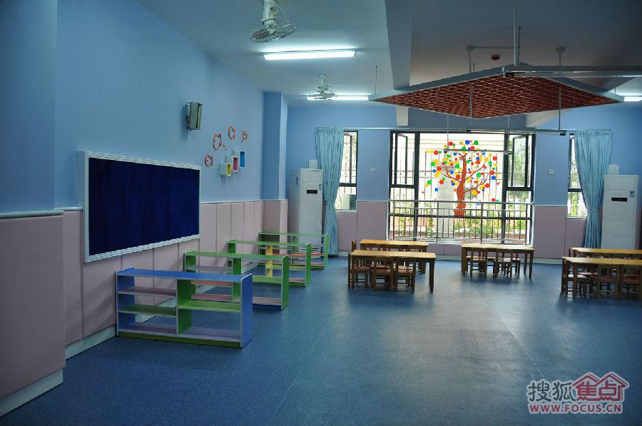 大朗碧桂园幼儿园室内环境!