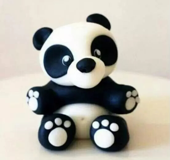 可爱简单的黏土作品教程小动物