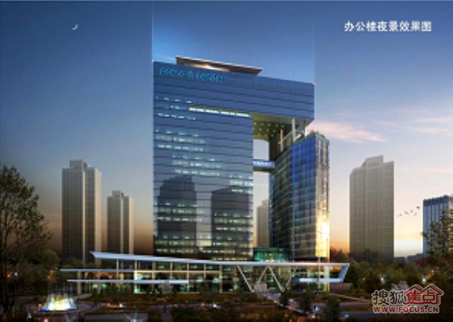 韩国浦项IT产业园:效果图