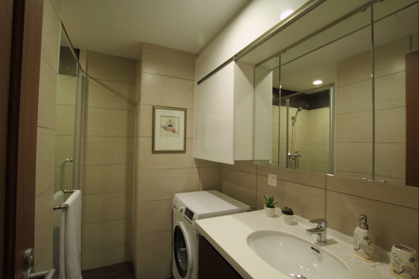 柏悦国际公寓,低碳环保装修 六层交屋标准样板层,实实在在