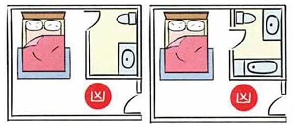 厕所门人体_三,厕所门对到床