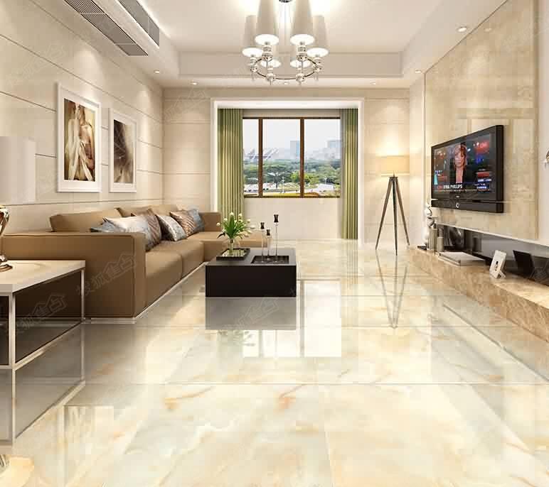 地板砖拼图效果图片中式过道地板砖拼图效果图片图片1