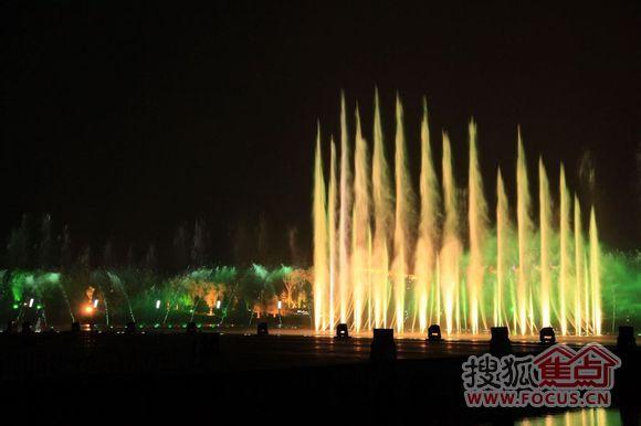 5.1月牙岛音乐喷泉-抚顺业内-抚顺搜狐焦点业主