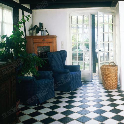 室内地板砖装修图片设计欣赏 高清图片