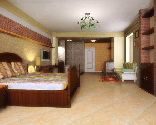 装饰基调.地板必须既美观又实用,厅地板砖一般以浅色调为主,高清图片