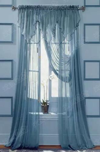 绝美的窗帘案例 让你爱上拉窗帘