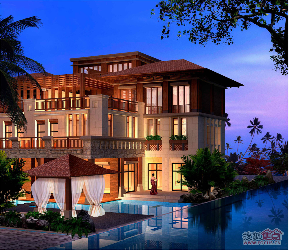 长乐钢结构别墅