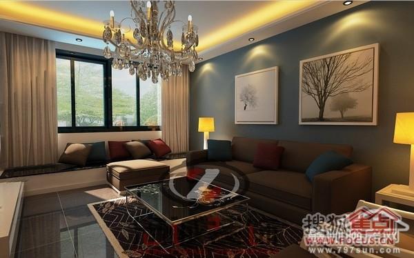 新房装修中沙发背景墙装修的要点高清图片