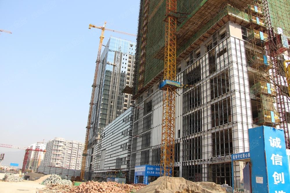 桂林恒大广场 楼盘施工进度图图片