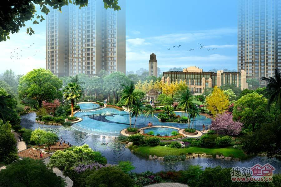 园林景观则由世界知名的香港阿特森景观公司设计图片