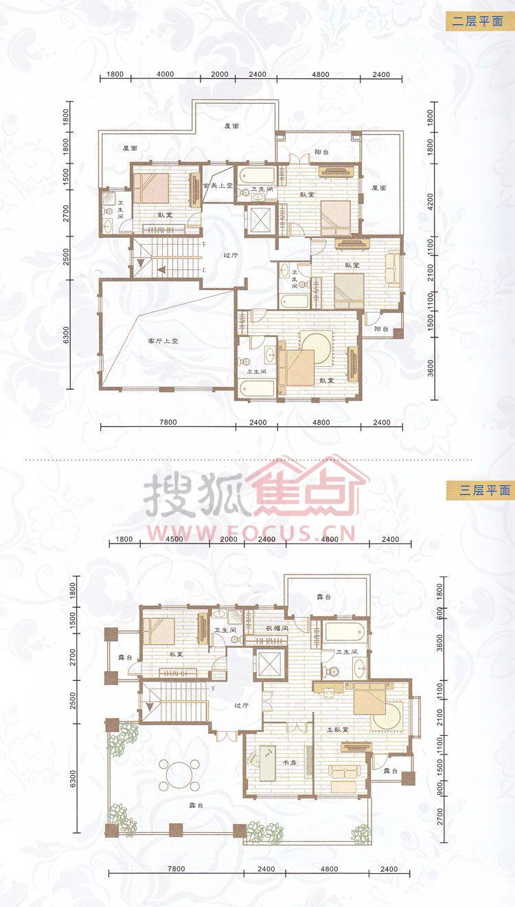 长18米宽12米别墅图纸
