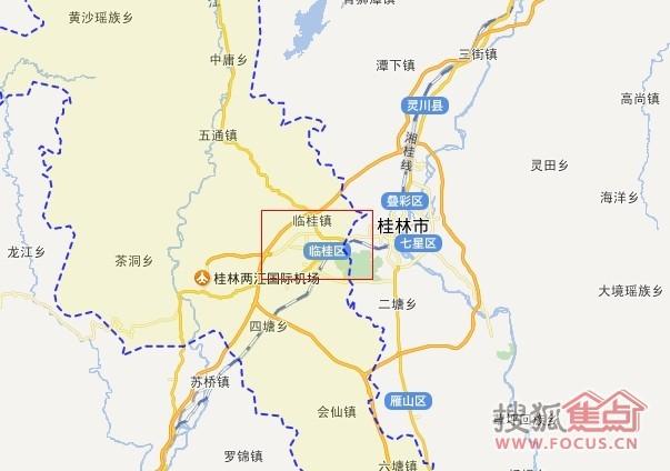 多款地图已经把临桂县改为临桂区