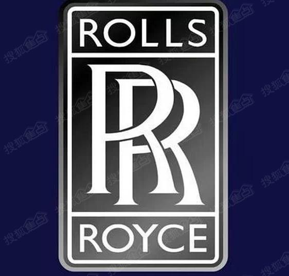 """劳斯莱斯汽车的标志图案采用两个""""r""""重叠在一起,象征着你中有我,我"""