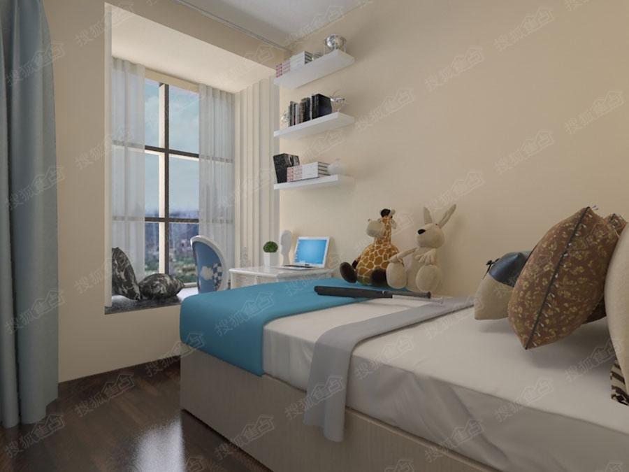 贵阳花果园r1区装修127平米三室现代风格装修实例