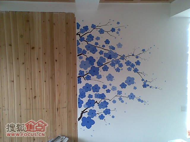 家装手绘墙画 墙体彩绘 打造个性墙面装饰