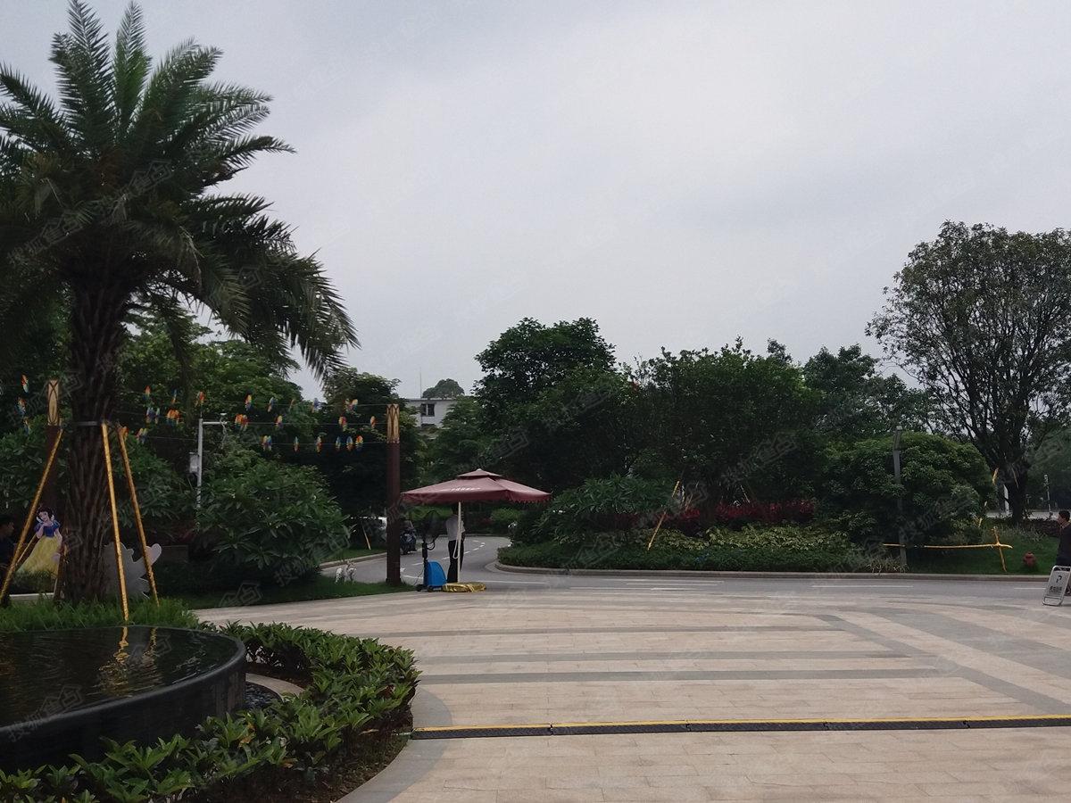 广州中铁建国际花园实景图