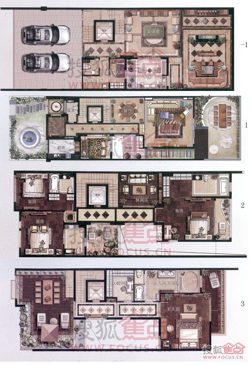 a1型别墅户型