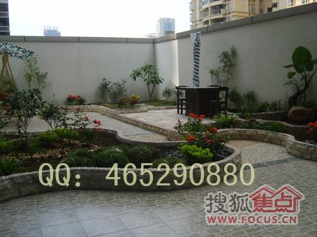 图:广州花园设计施工,鱼池假山设计施工,流水景墙设计