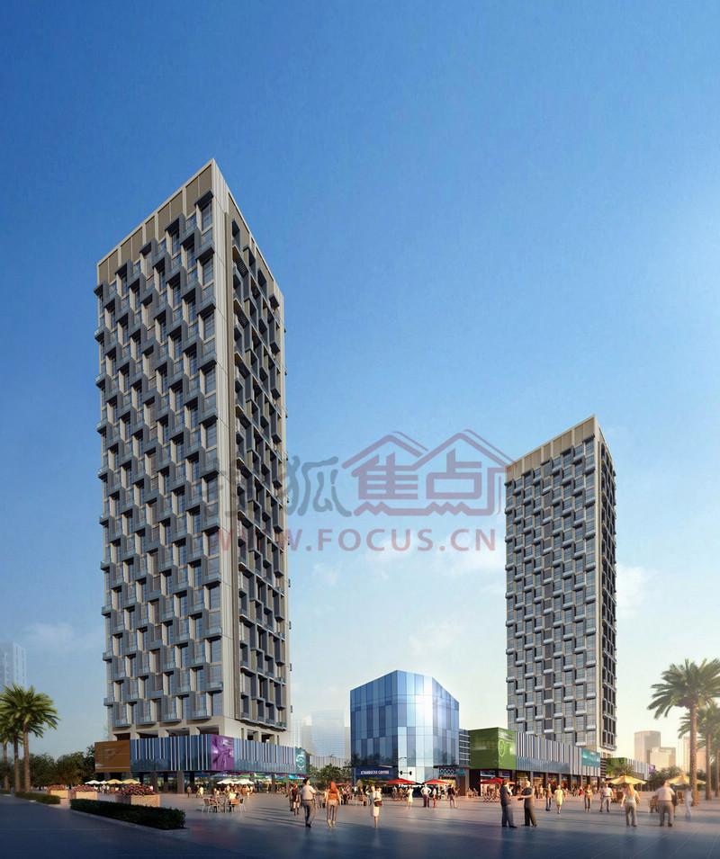 业主论坛)项目具有loft公寓特色,针对首次置业,改善型,投资型客户设计图片