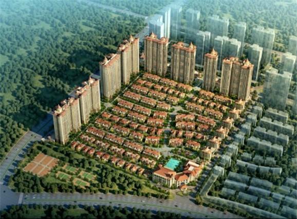 挂绿新城生态大盘 敏捷绿湖国际城6800元 平起 高清图片