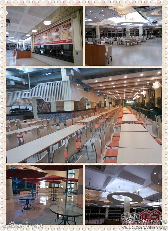 广东工业大学饭堂华丽变身图片