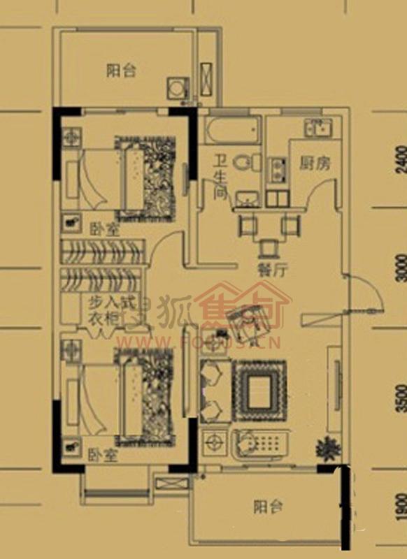 置业商务广场电路结构图