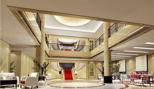 酒店大堂装修效果图案例高清图片