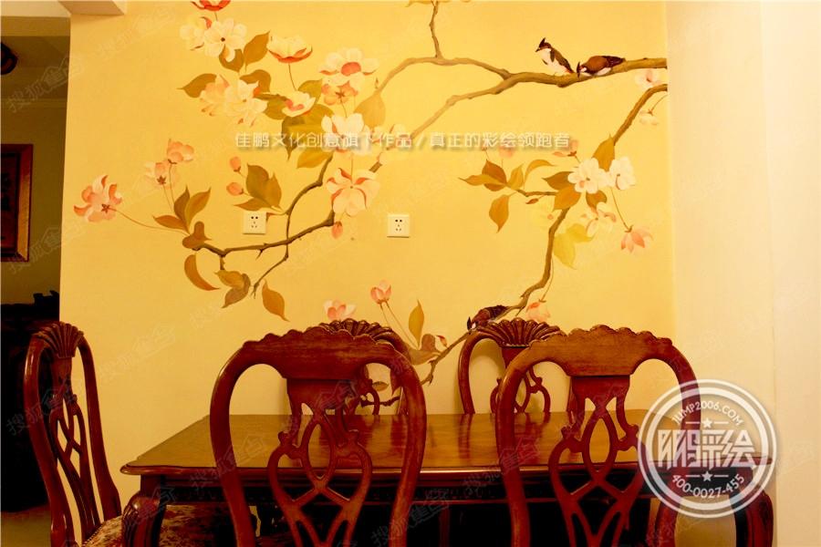 鄂尔多斯手绘墙 幼儿园手绘墙 主题酒店手绘墙 3d立体画