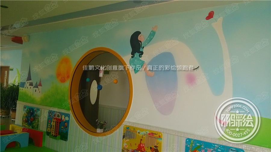 呼和浩特手绘墙 幼儿园手绘墙 主题酒店手绘墙 内蒙古手绘墙 幼儿园手绘墙图片