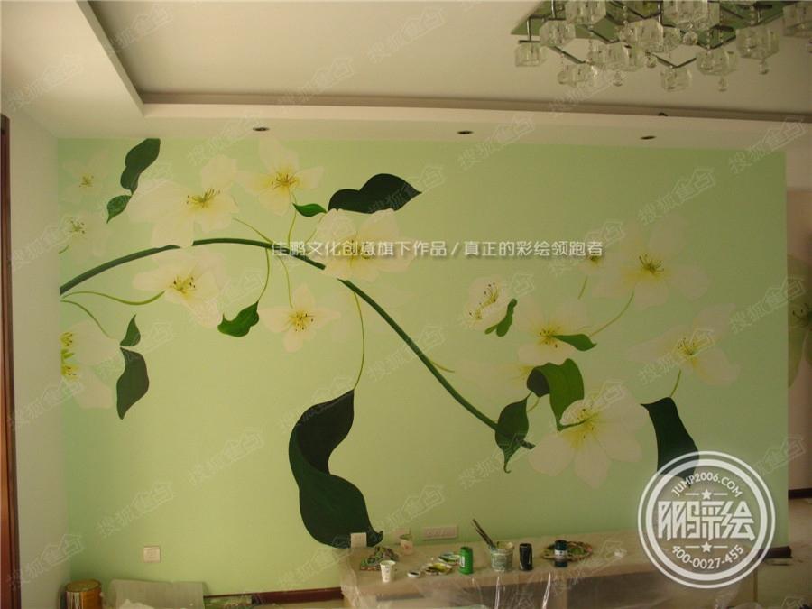 家装手绘墙 主题酒店手绘墙图片
