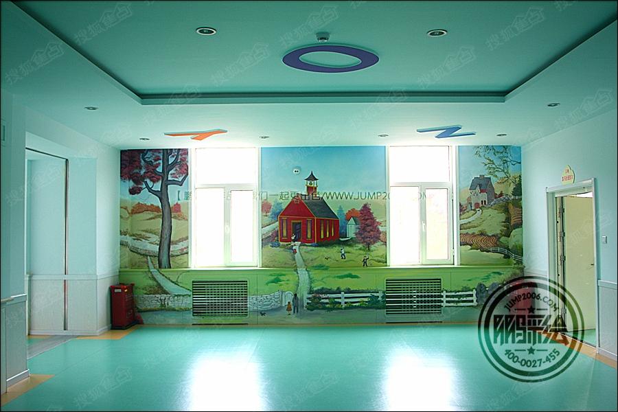 呼和浩特墙体彩绘 幼儿园墙体彩绘 主题酒店墙体彩绘 游乐场墙体彩绘图片
