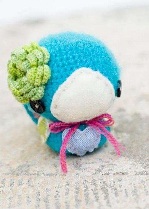 图:萌——超可爱的创意手工编织小动物