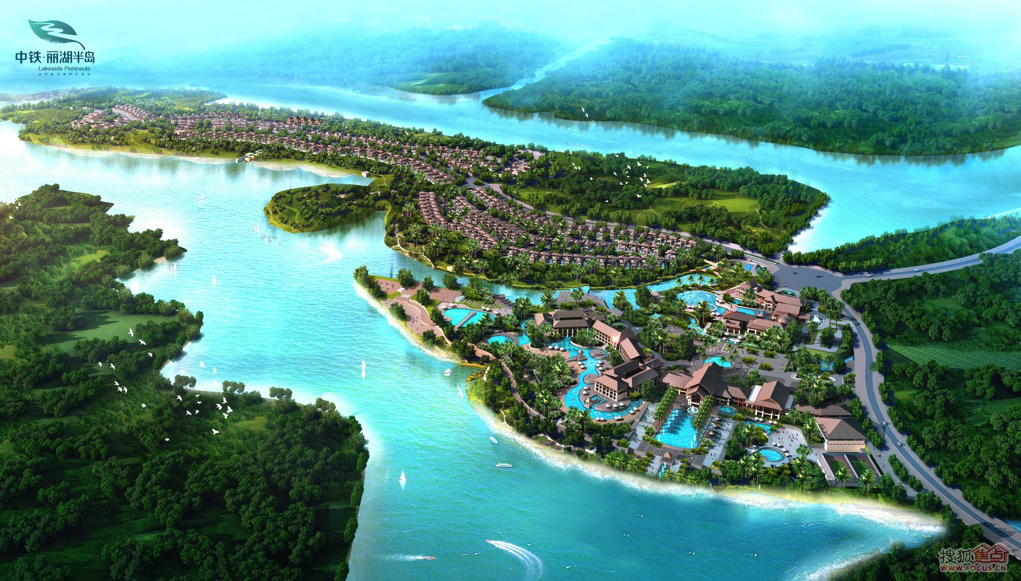 中铁·诺德丽湖半岛图片