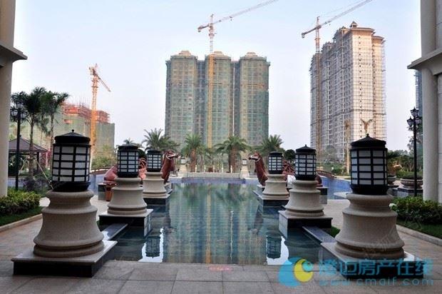 景园悦海湾水系景观-景园悦海湾建筑采用东南亚热带简约园林风格