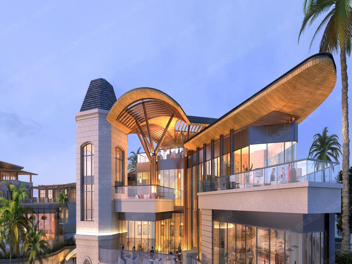 清澜半岛渔人码头之观景平台建筑造型效果图-海南搜狐