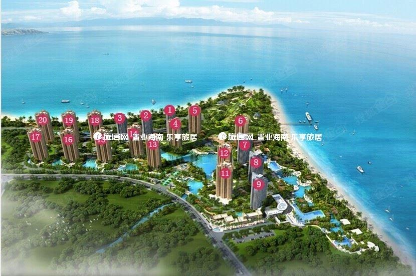 临高长岛蓝湾 优惠总价低至29.9万/套,一线精装海景房