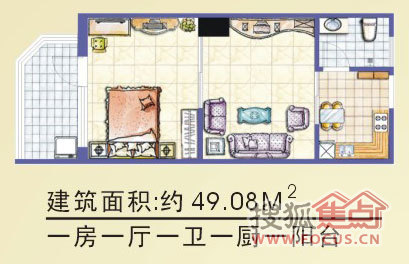 【金都花园户型图】-海南搜狐焦点网