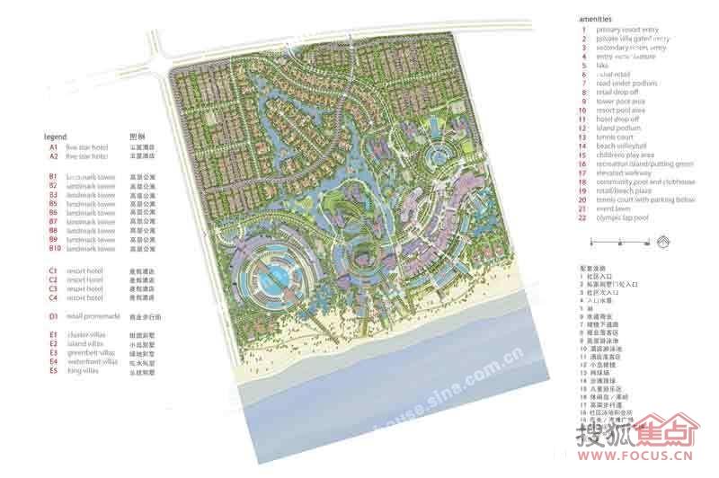 钦州市清水湾平面图