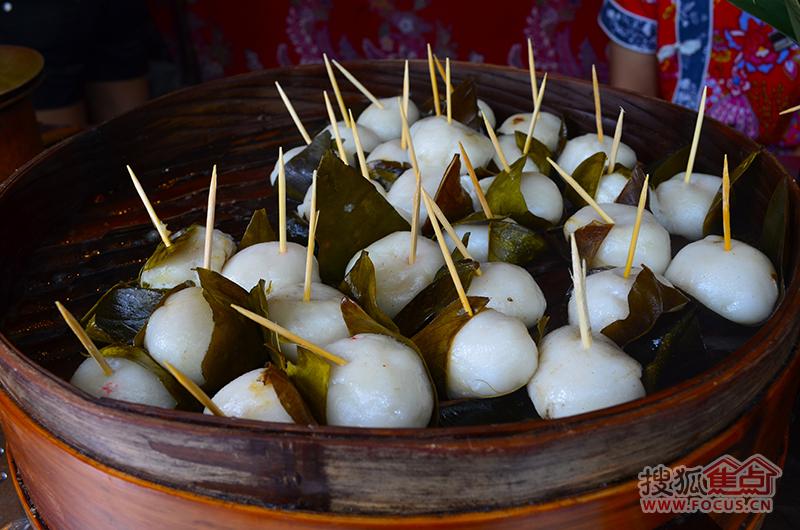 成都锦里古街小吃图片