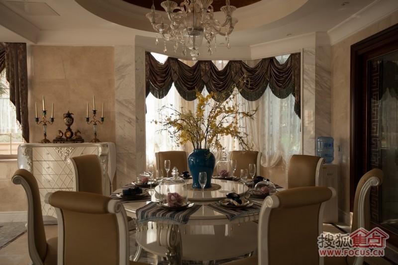 珊瑚宫殿欧式别墅样板间图片
