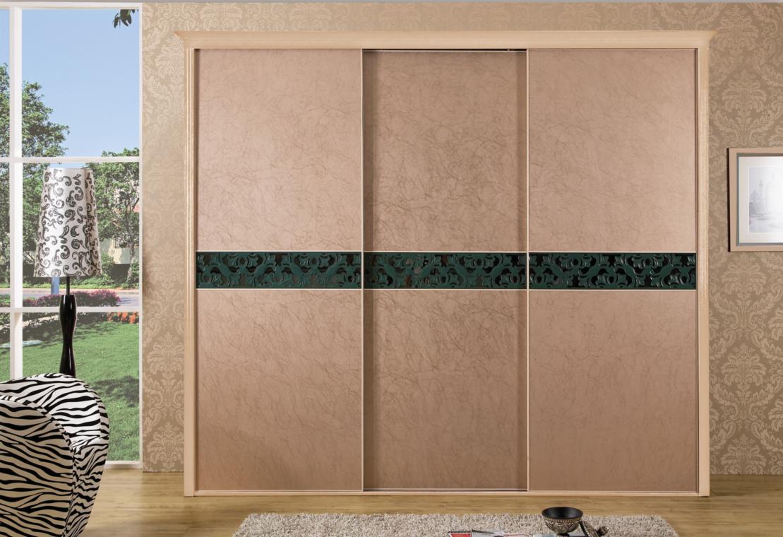 做卧室衣柜的时候忘记留玻璃门的边框怎么办