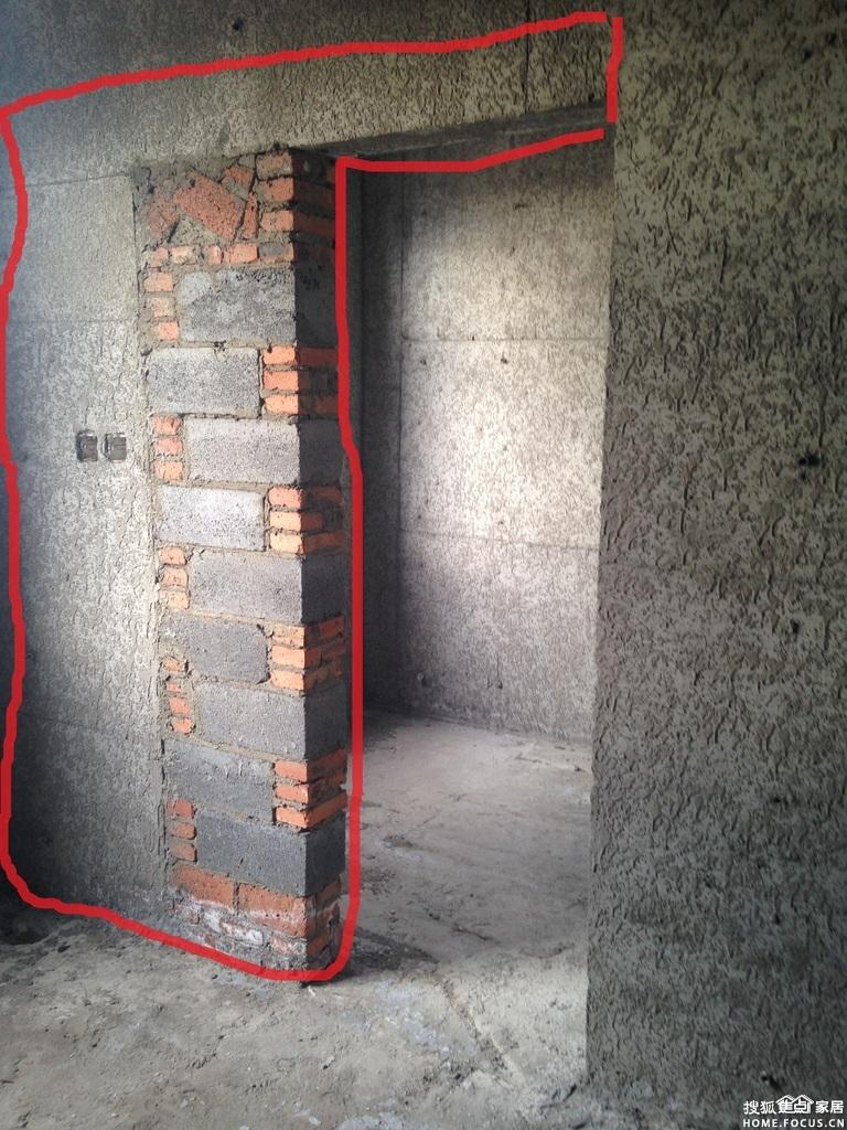 你是说那有红砖混杂的那段墙吧, 装修论坛论坛高清图片