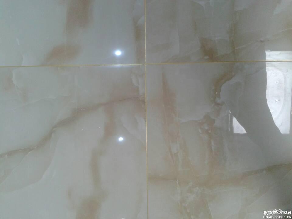 图:抛釉砖与镏金色美缝施工效果图-石家庄装修-搜狐