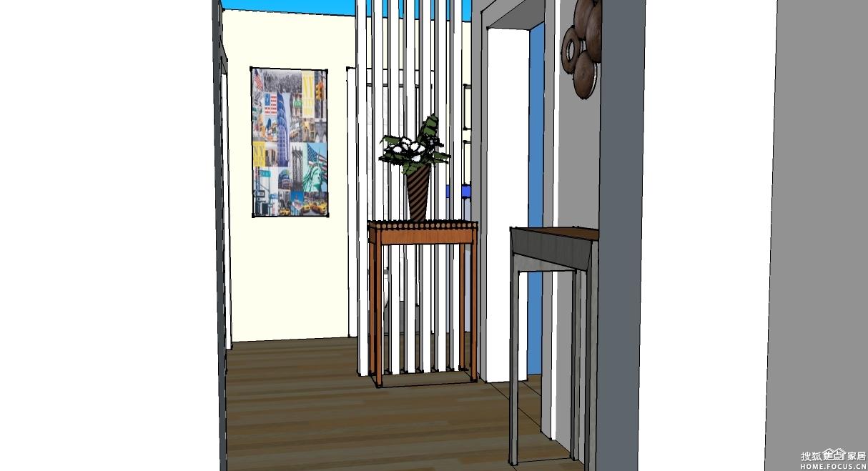下面是设计师为户主提供的空间展示图