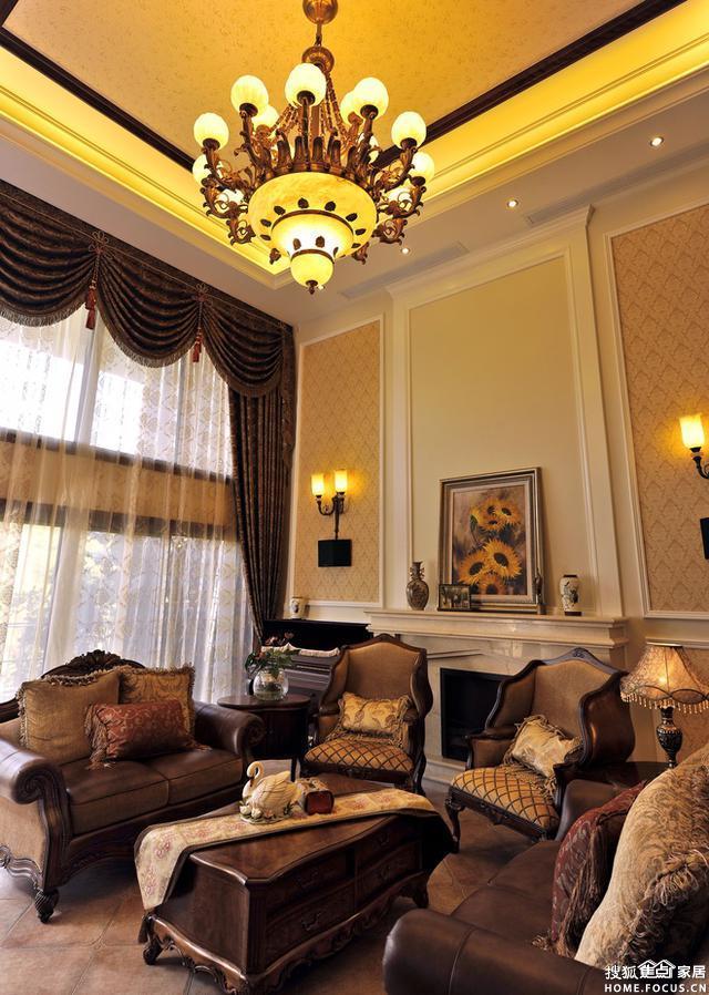 重庆洋房别墅装修案例 欧式风格