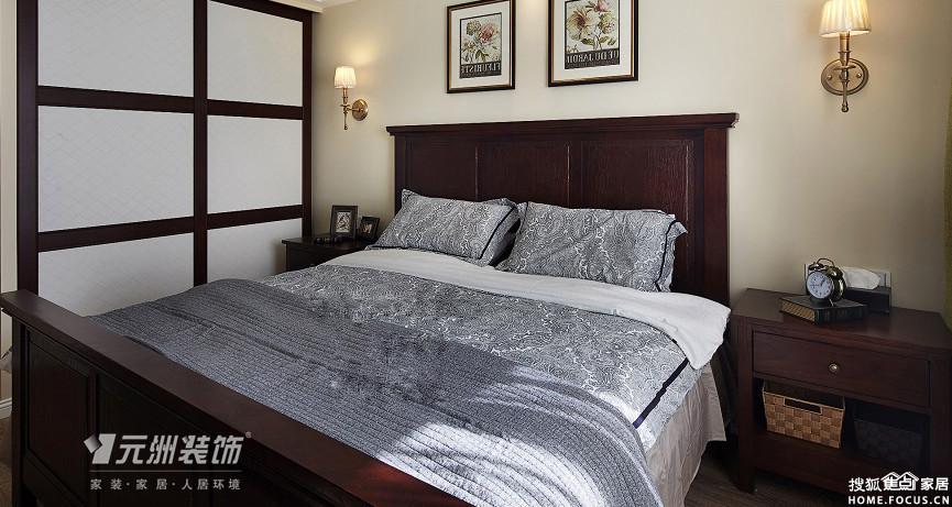 广源国际装修案例.广源国际140平美式风格装修效果图欣赏 客厅部分 -