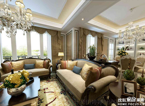 重庆专业洋房别墅装修效果图 重庆装修