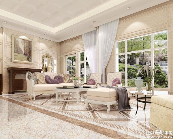 图:通利大理石瓷砖百变风格搭配-广州装修-搜狐家居图片